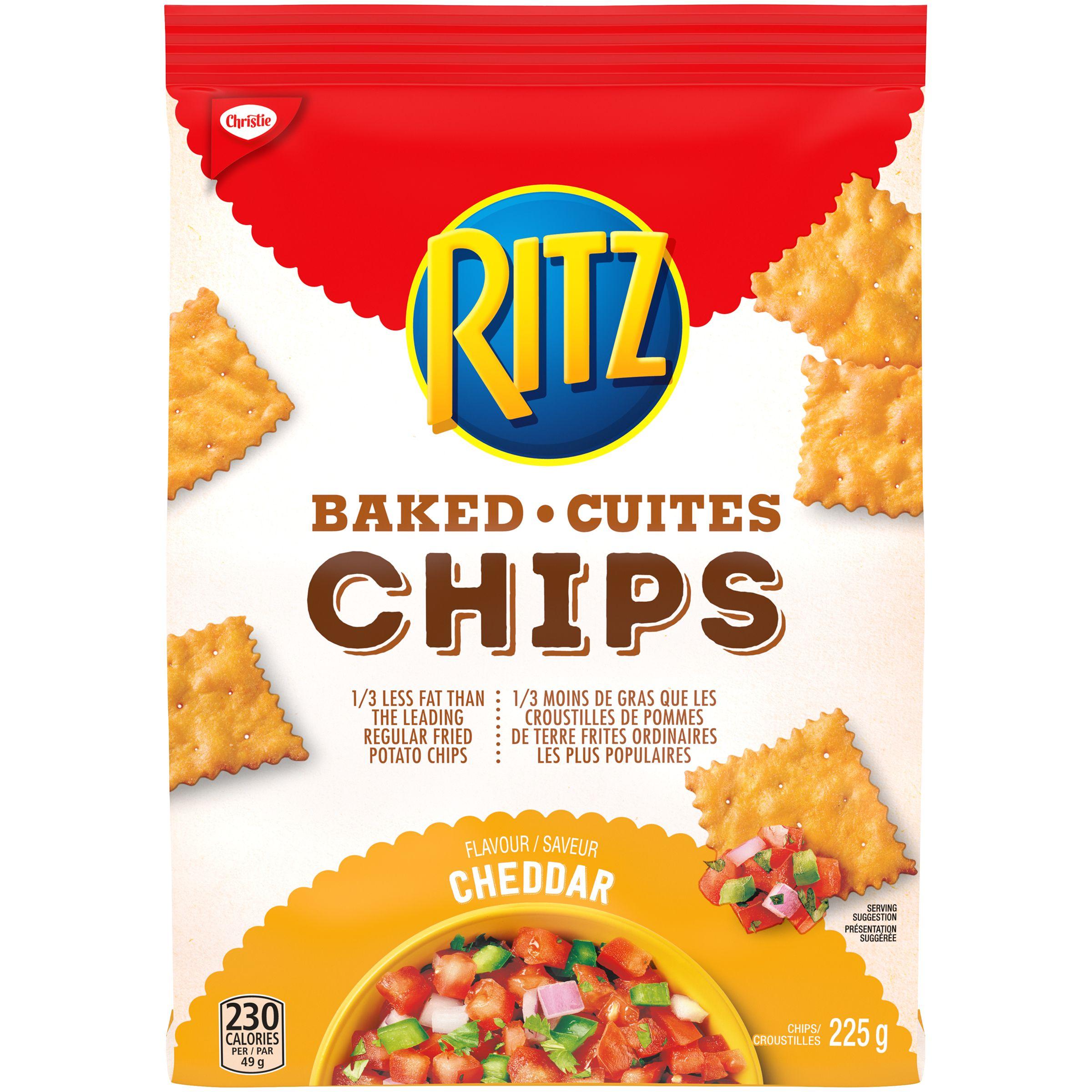 Ritz Ritz Chips Cheddar Crackers 225 G