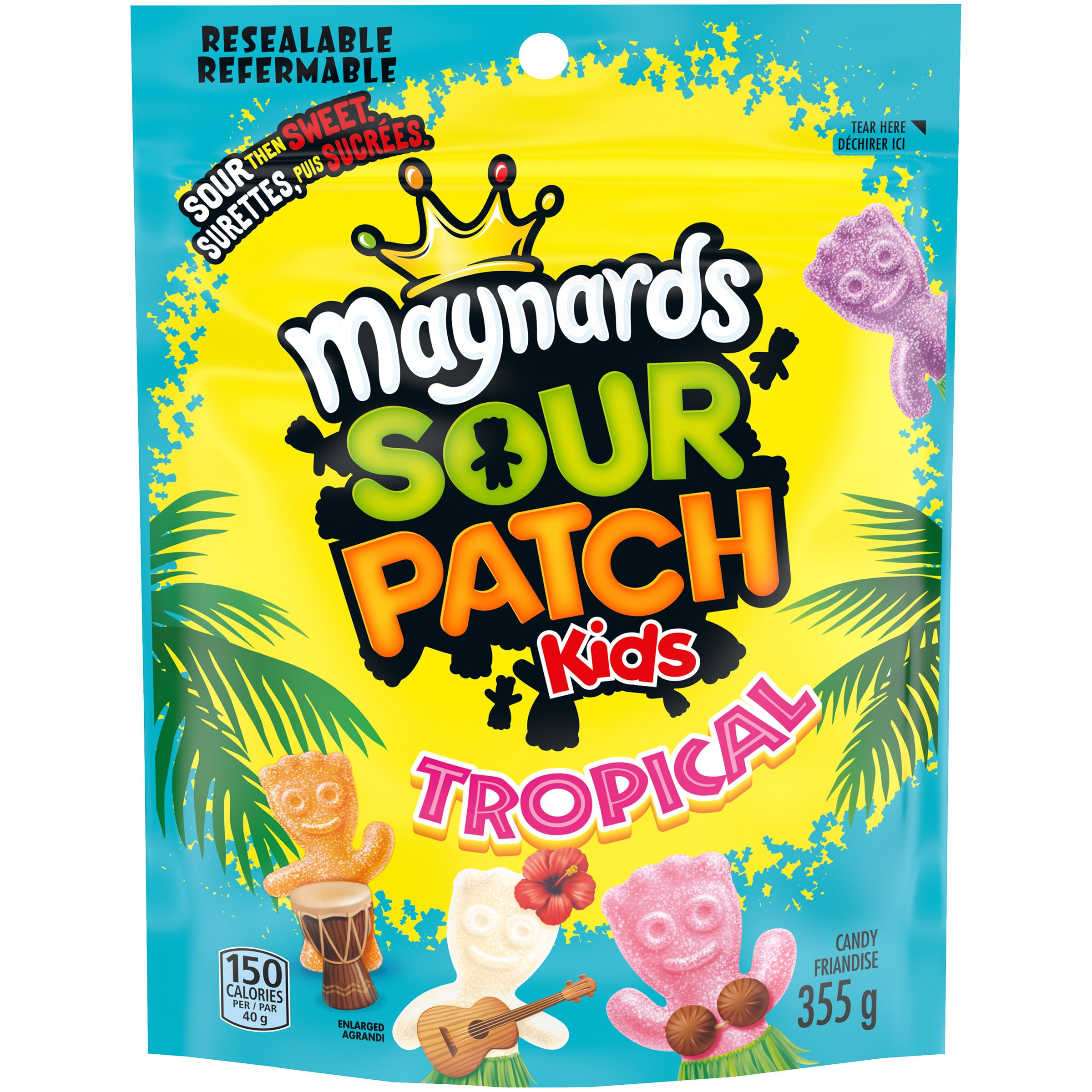 MAYNARDS Sour Patch Kids TROPICAL 355 GRM