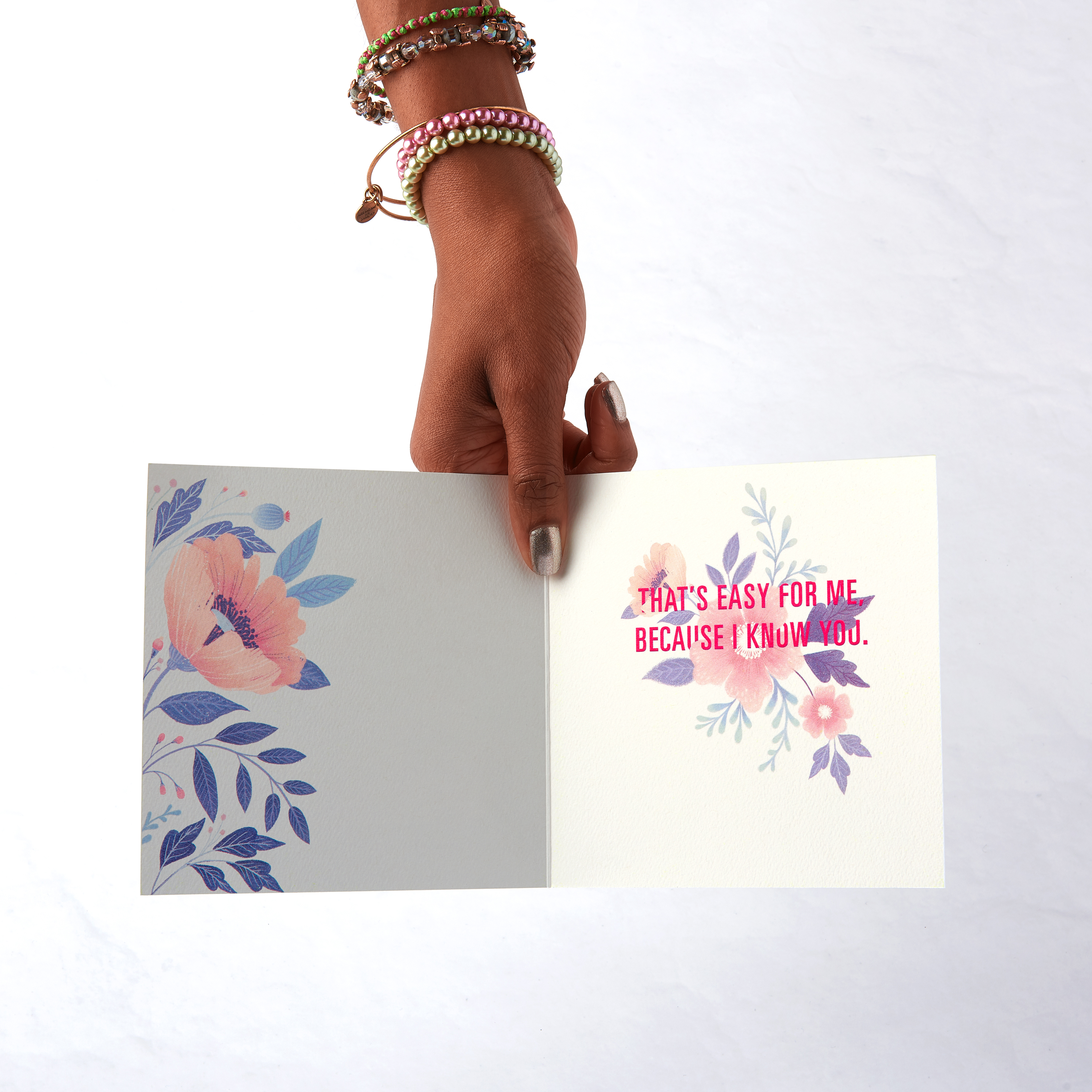 Floral Greeting Card for Her - Birthday, Thinking of You, Encouragement image
