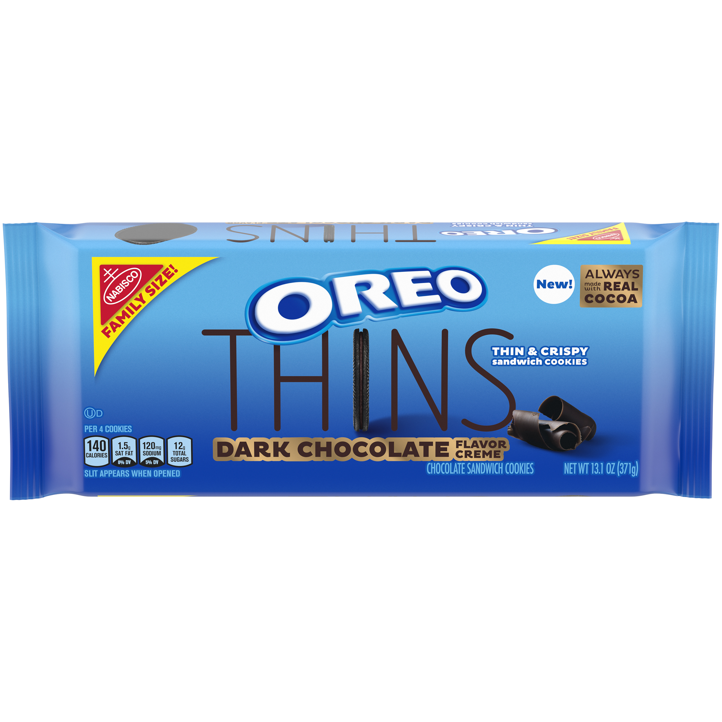 OREO Thins Dark Chocolate Sandwich Cookies 13.1 oz