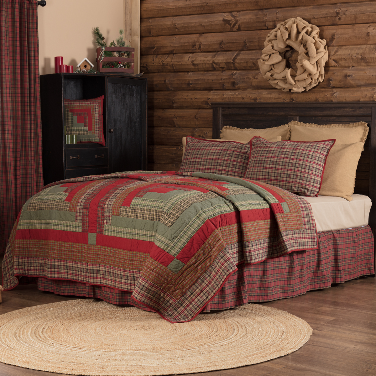 Gatlinburg Twin Quilt 68Wx86L