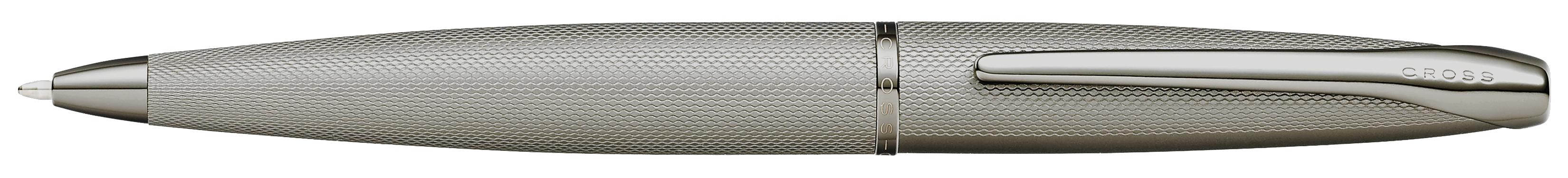 ATX Sandblasted Titanium Gray Ballpoint Pen