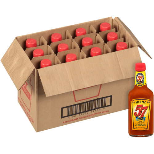 HEINZ 57 Sauce, 15 oz. Bottles (Pack of 12)