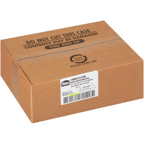 HEINZ Single Serve Light Ranch Dressing, 0.7 oz. Cups (Pack of 100)