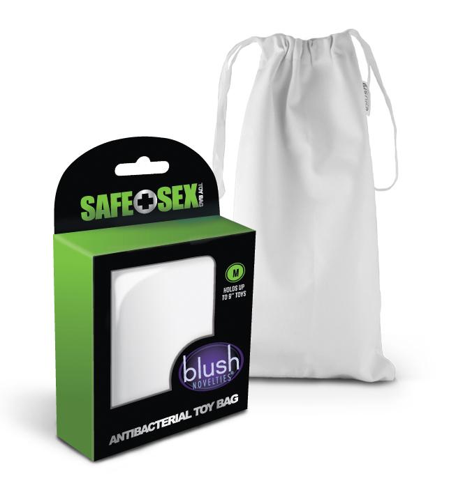 Safe Sex - Antibacterial Toy Bag - Medium