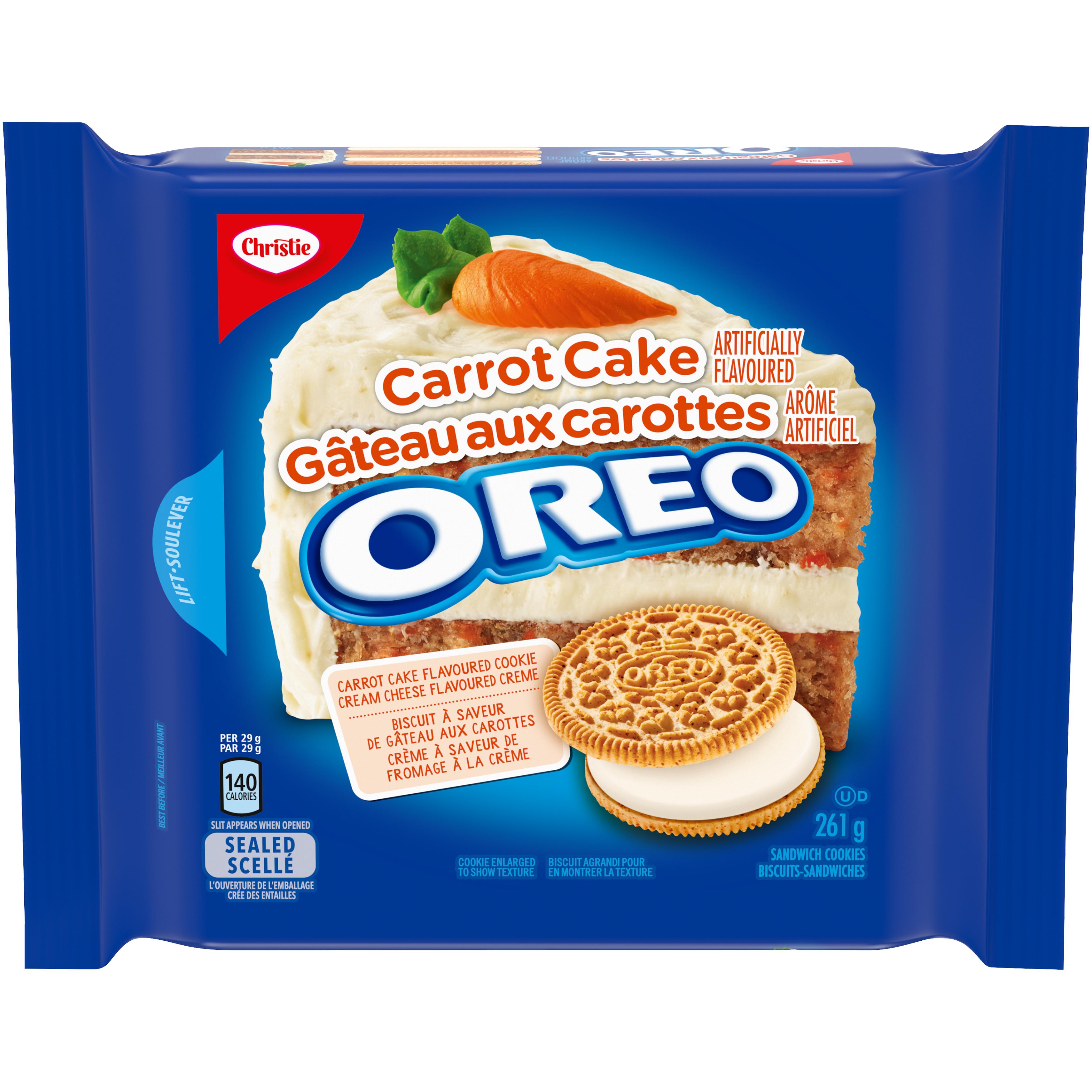 Oreo Double Crème Gâteau Aux Carottes Biscuits 261 G