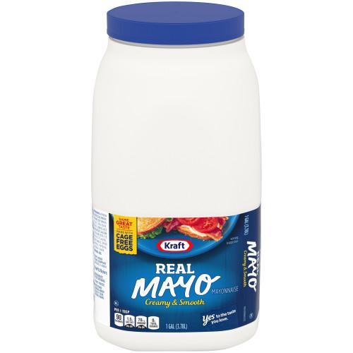 KRAFT Bulk Mayonnaise, 1 gal. Jug (Pack of 4)