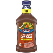 Kraft Asian Sesame Lite Dressing 16 fl oz Bottle