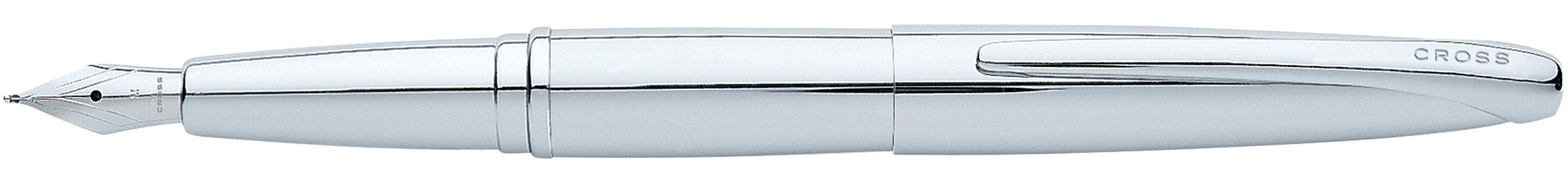 ATX Pure Chrome Fountain Pen