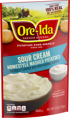 Sour Cream Homestyle Mashed Potatoes