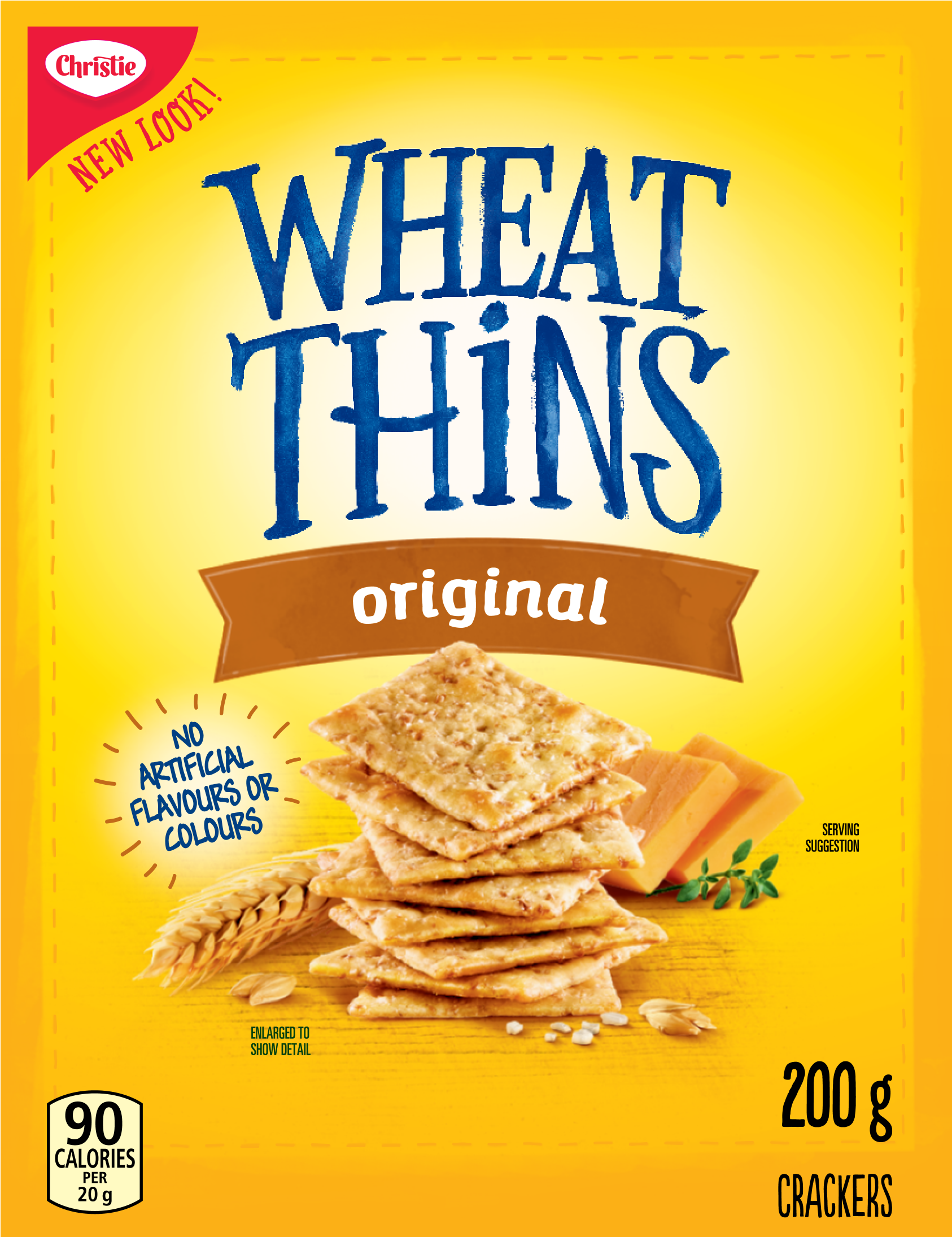 Wheat Thins Original Crackers 200 G