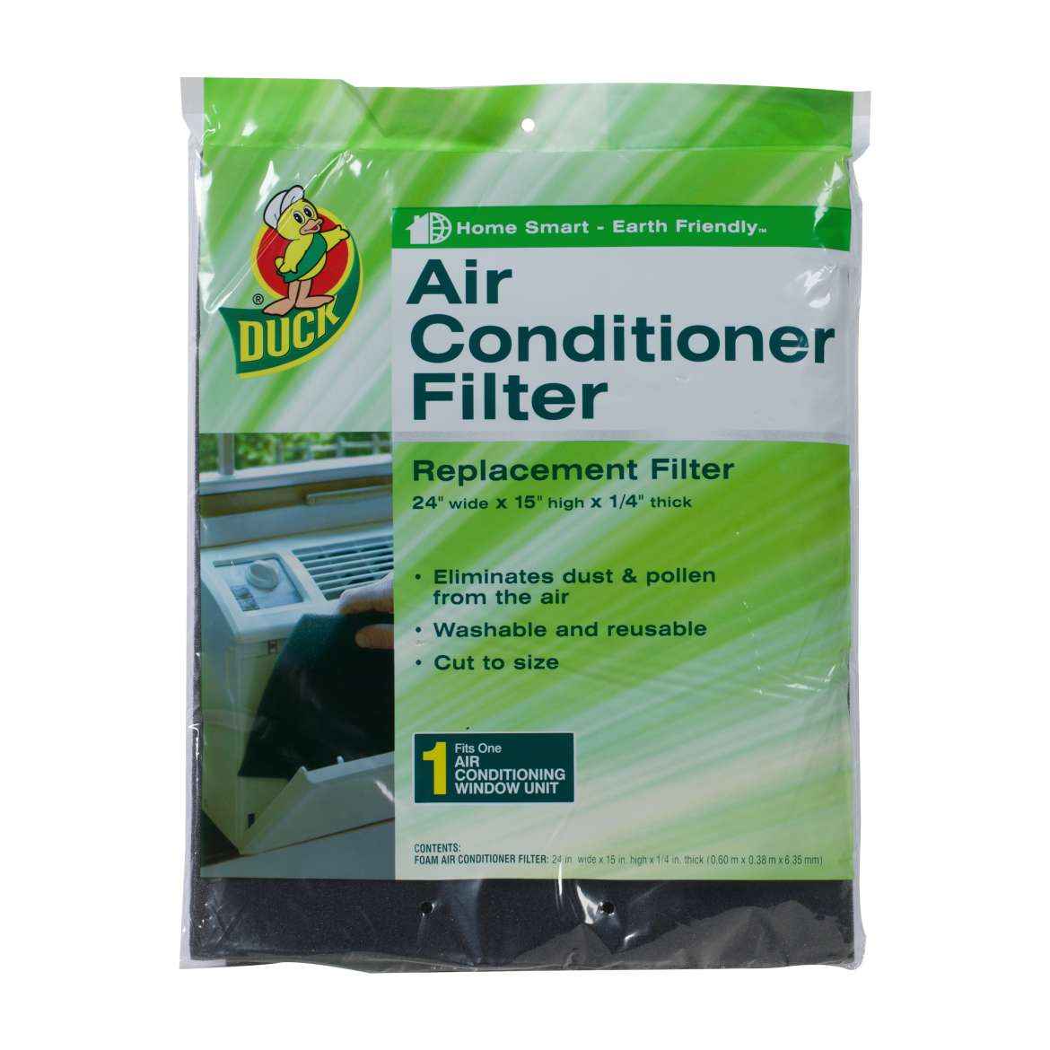 Duck® Brand Air Conditioner Filter - 24 in. x 15 in. x .25 in. Image