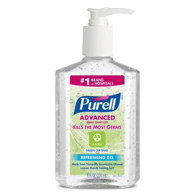 PURELL® Advanced Hand Sanitizer Green Certified Gel