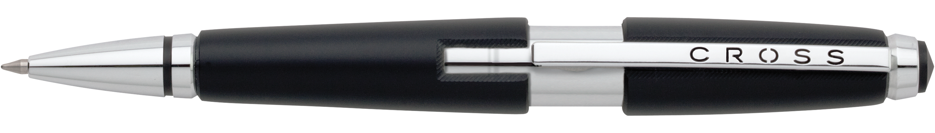 Edge Jet Black Gel Rollerball Pen