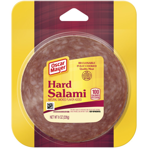 Oscar Mayer Hard Salami, 8 oz