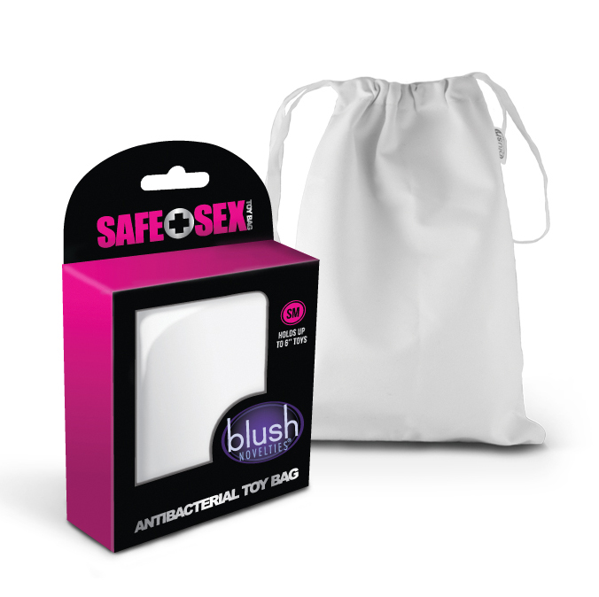 Safe Sex - Antibacterial Toy Bag - Small