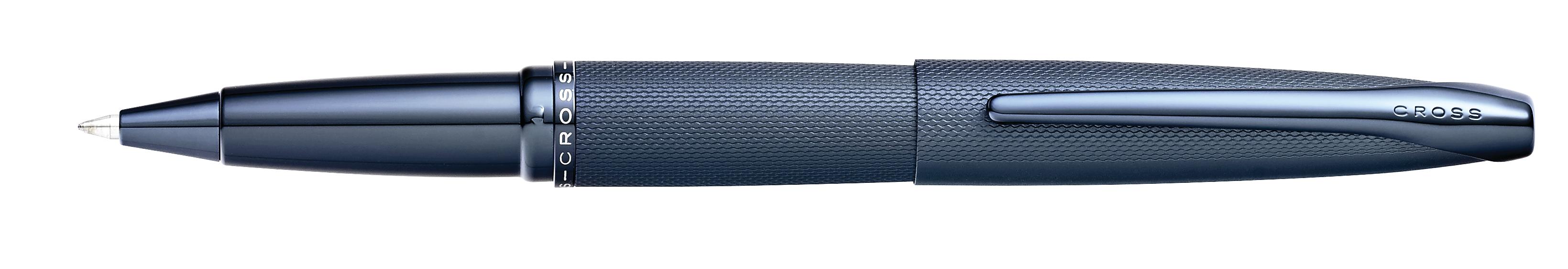 ATX Sandblasted Dark Blue Rollerball Pen