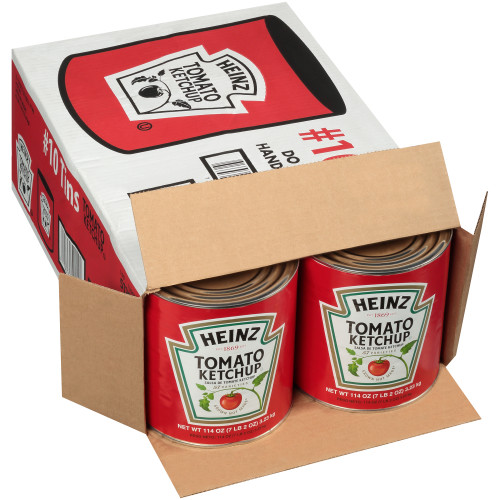 HEINZ Ketchup #10 Can, 114 oz. (Pack of 6)