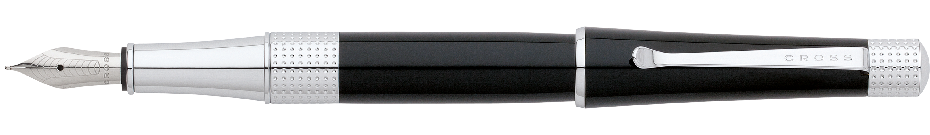 Beverly Black Lacquer Fountain Pen