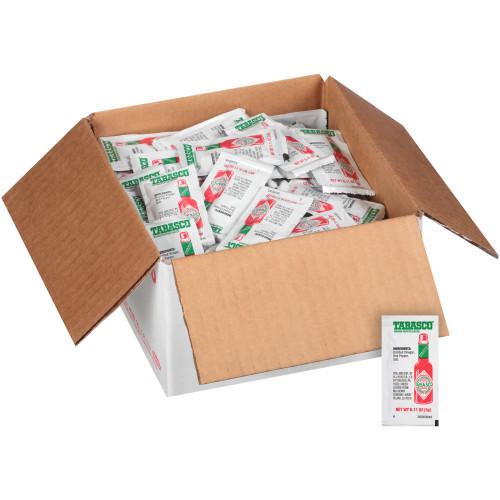 TABASCO® Single Serve Pepper Sauce, 3 Gr. Packets (Pack Of 200)