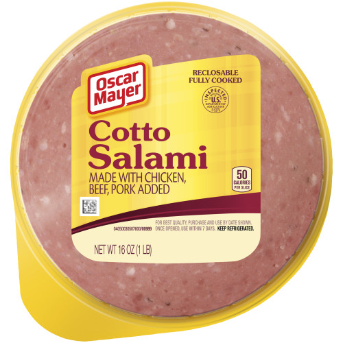 Oscar Mayer Cotto Salami, 16 oz