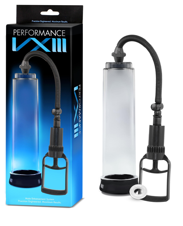 Performance - VX3 - Male Enhancement Pump System - Clear