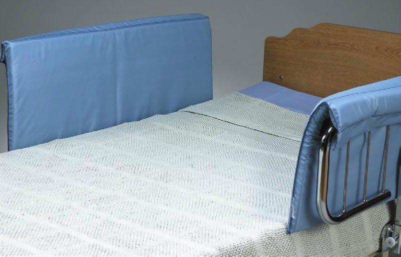 Bed Side Rail Bumper Pad, Skil-Care Classic, 1 X 15 X 37 Inch, 401090 - 1 Pair