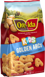 Kid's Golden ABCs Mashed Potatoes image