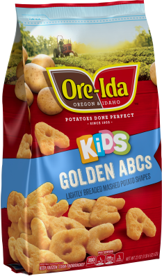 Kid's Golden ABCs Mashed Potatoes