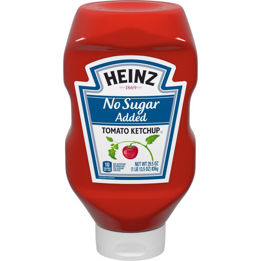 Heinz No Sugar Added Ketchup (29.5 oz.)