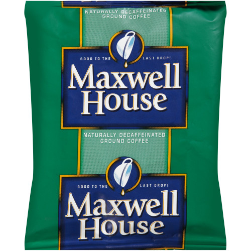 MAXWELL HOUSE Decaffeinated Roast & Ground Coffee, 1.7 oz. Packets (Pack of 96)
