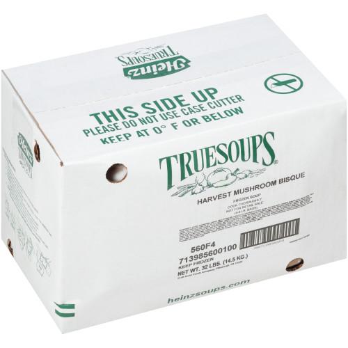 HEINZ TRUESOUPS Harvest Mushroom Bisque Soup, 8 lb. Bag (Pack of 4)