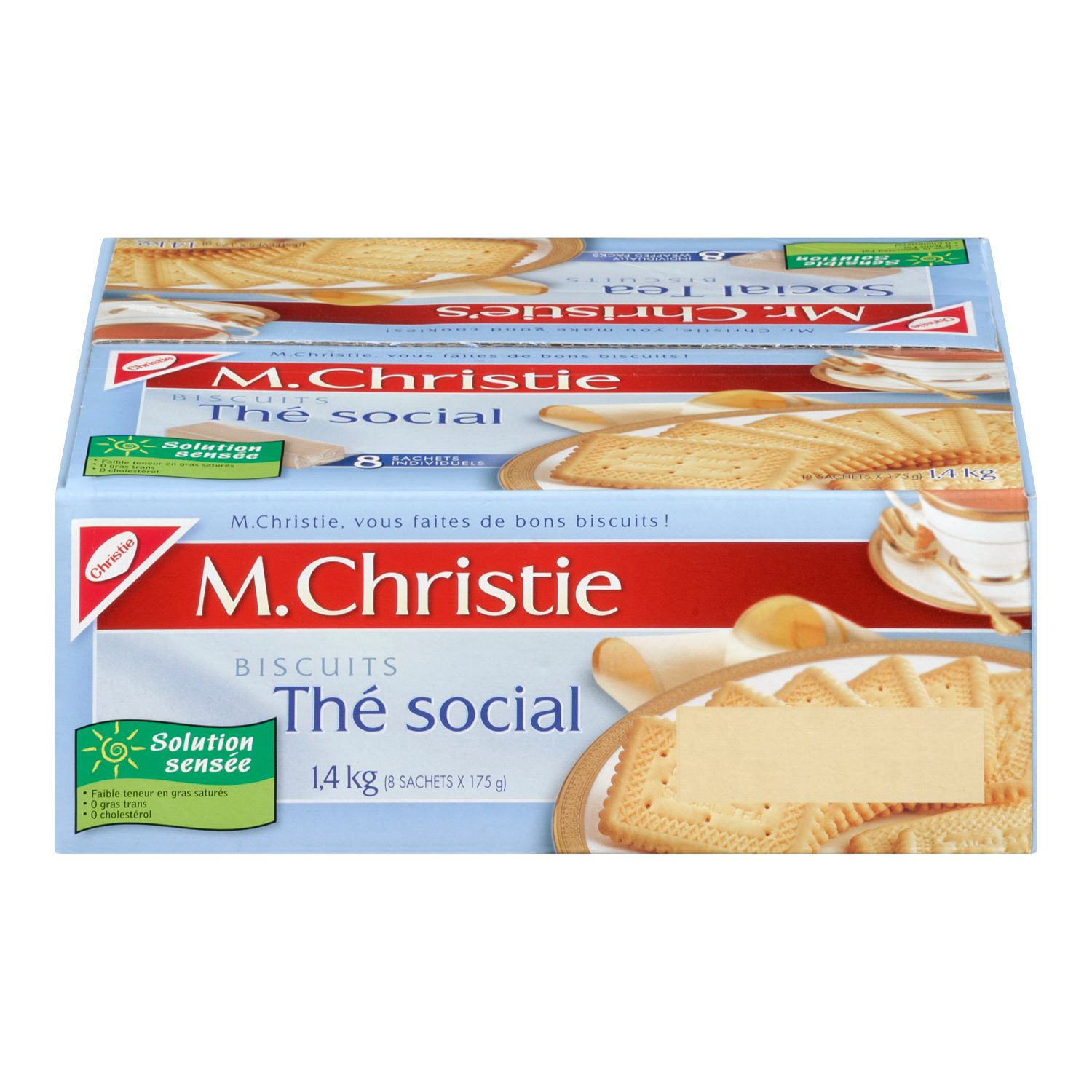 Social Tea Biscuits 1.4 Kgm