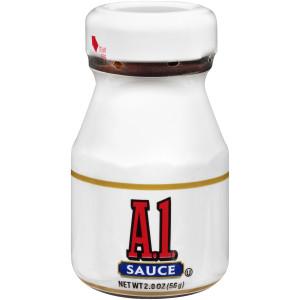 A.1. Single Serve Steak Sauce Roomservice Jar, 2 oz. Jar (Pack of 60) image