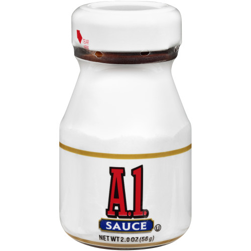 A.1. Single Serve Steak Sauce Roomservice Jar, 2 oz. Jar (Pack of 60)