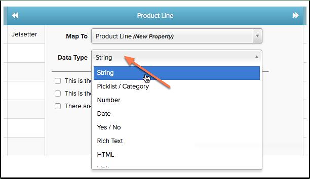 Choosing the Data Type