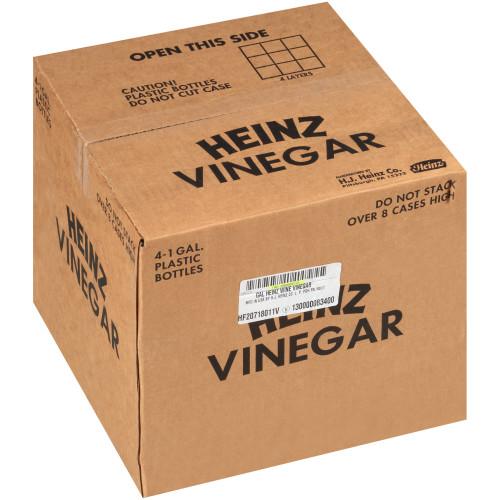 HEINZ Red Wine Vinegar, 1 gal. Jugs (Pack of 4)
