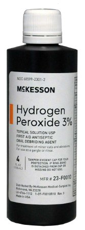 Antiseptic, McKesson, 4 oz. Topical Solution Bottle, 23-F0010 - EACH