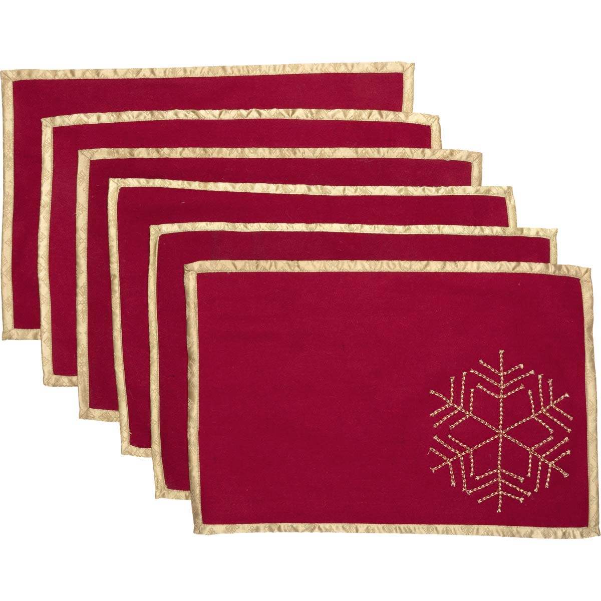 Revelry Placemat Set of 6 12x18