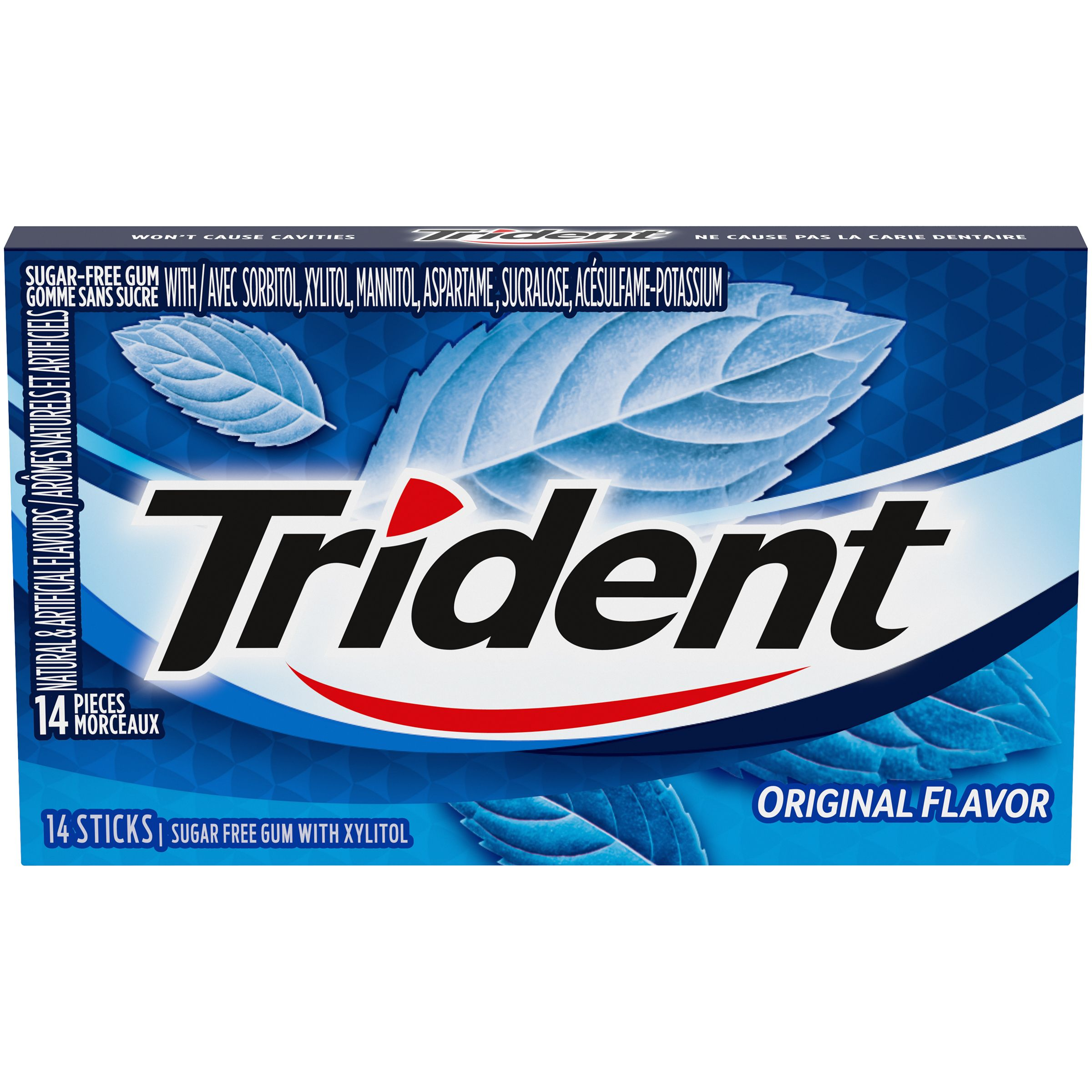 Trident Original Gum 14 Count