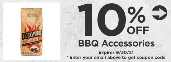 10% off BBQ Accessories