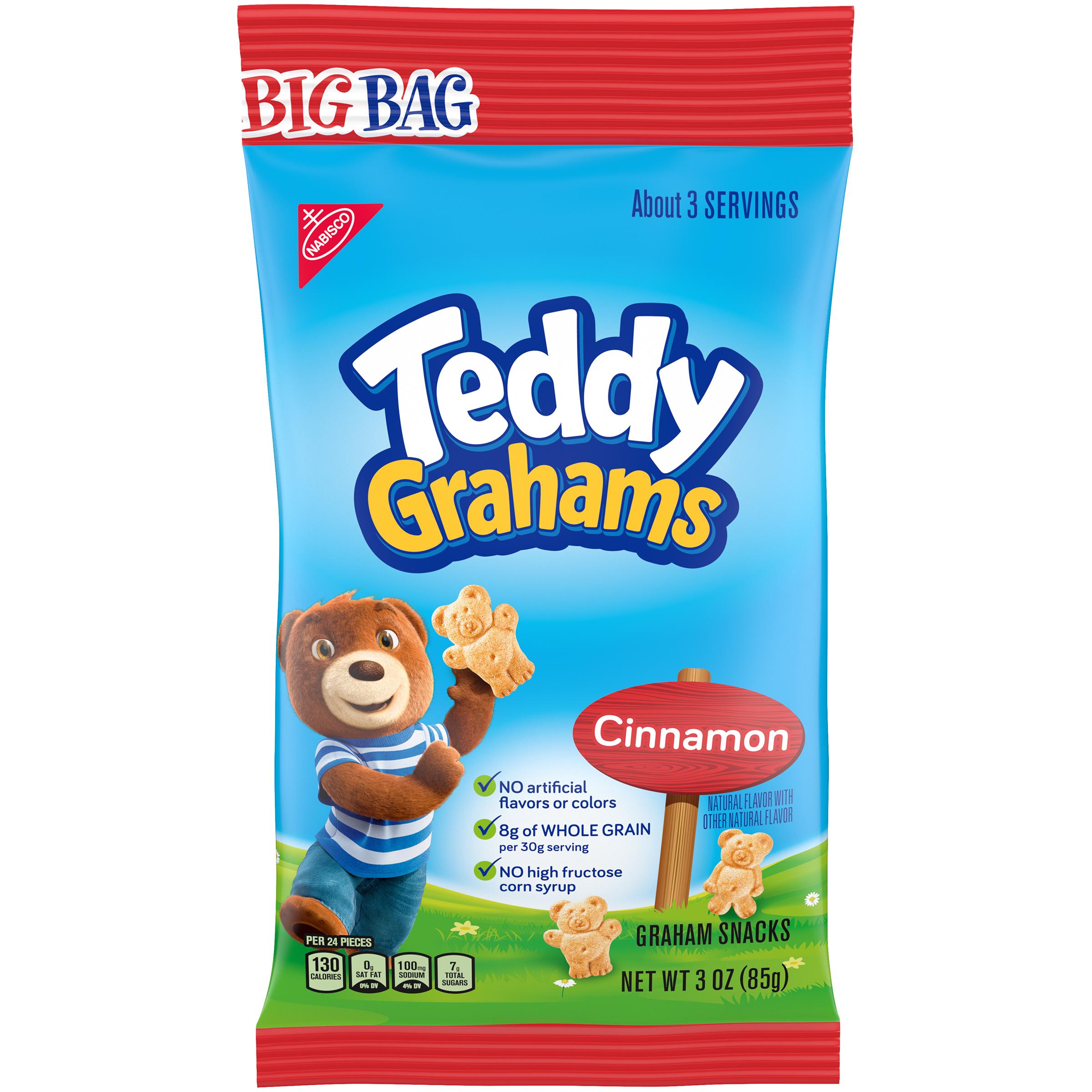 TEDDY GRAHAMS Cinnamon Lunchbox Cookies 3 oz