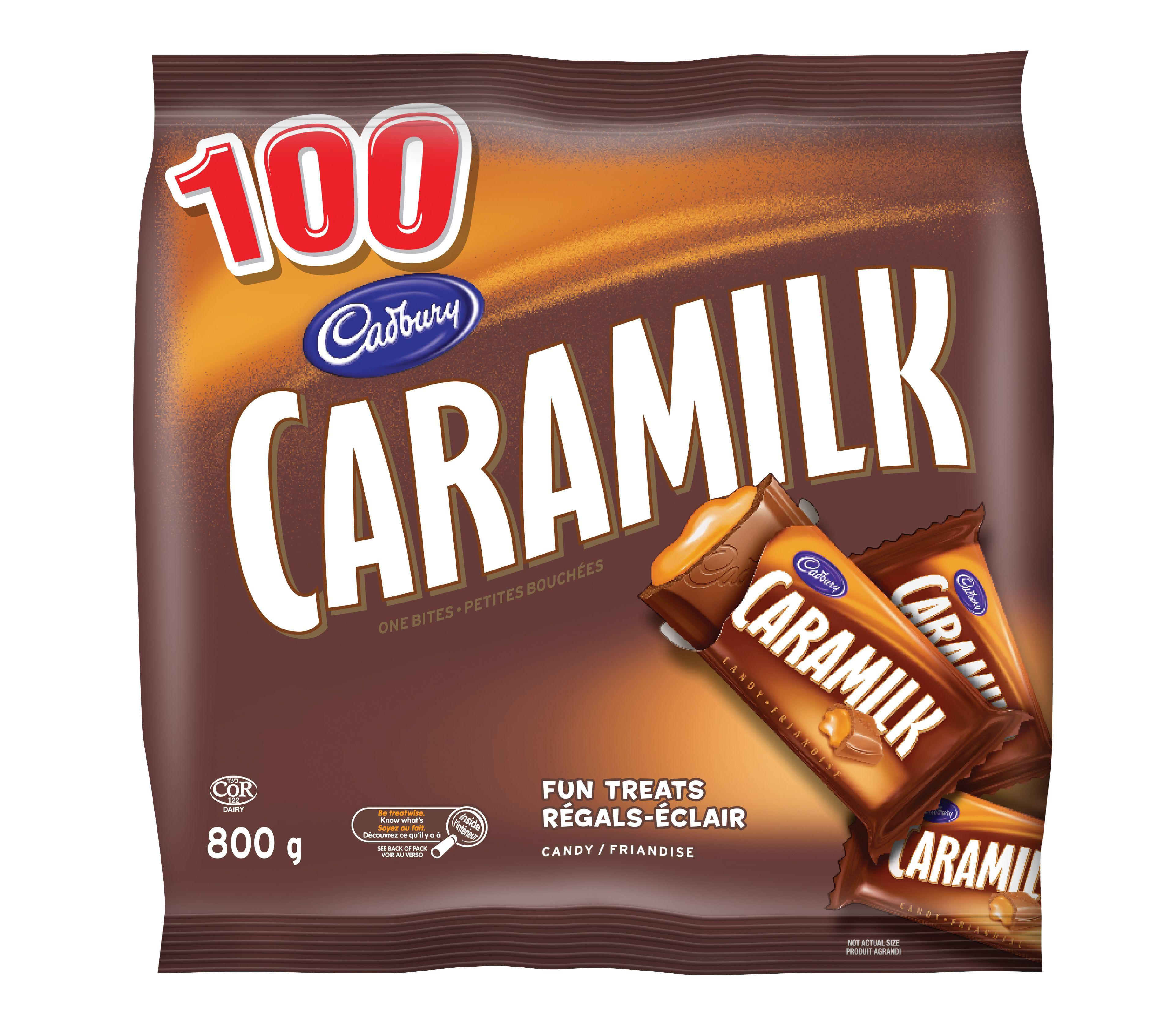Caramilk Miniatures Chocolate 800 G