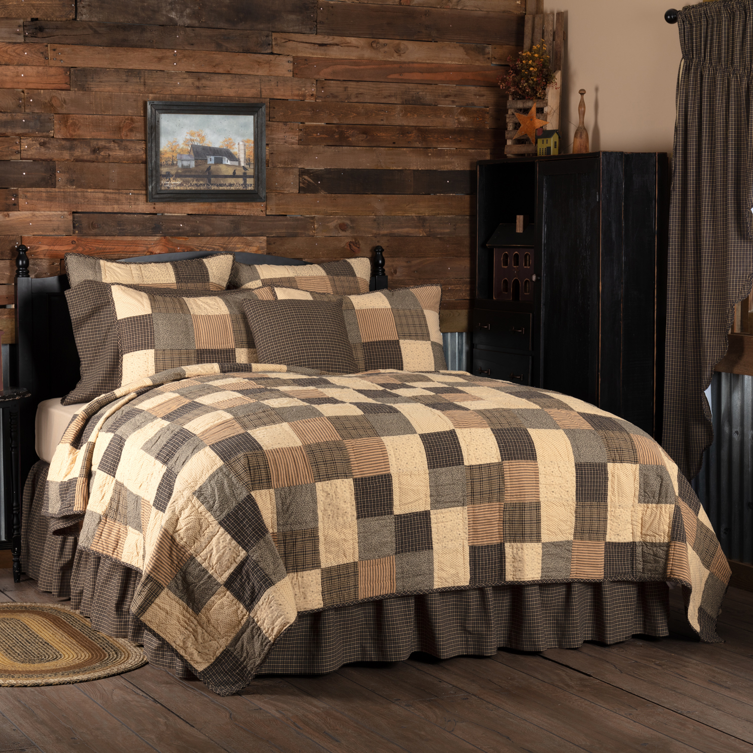 Kettle Grove King Quilt 110Wx97L