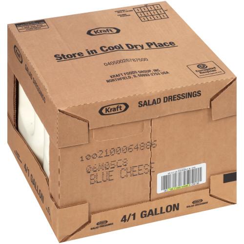 KRAFT Bulk Blue Cheese Salad Dressing, 1 gal. Jug (Pack of 4)