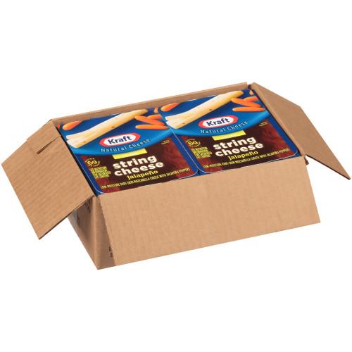 KRAFT Jalapeño String Cheese, 0.84 oz. (Pack of 12)