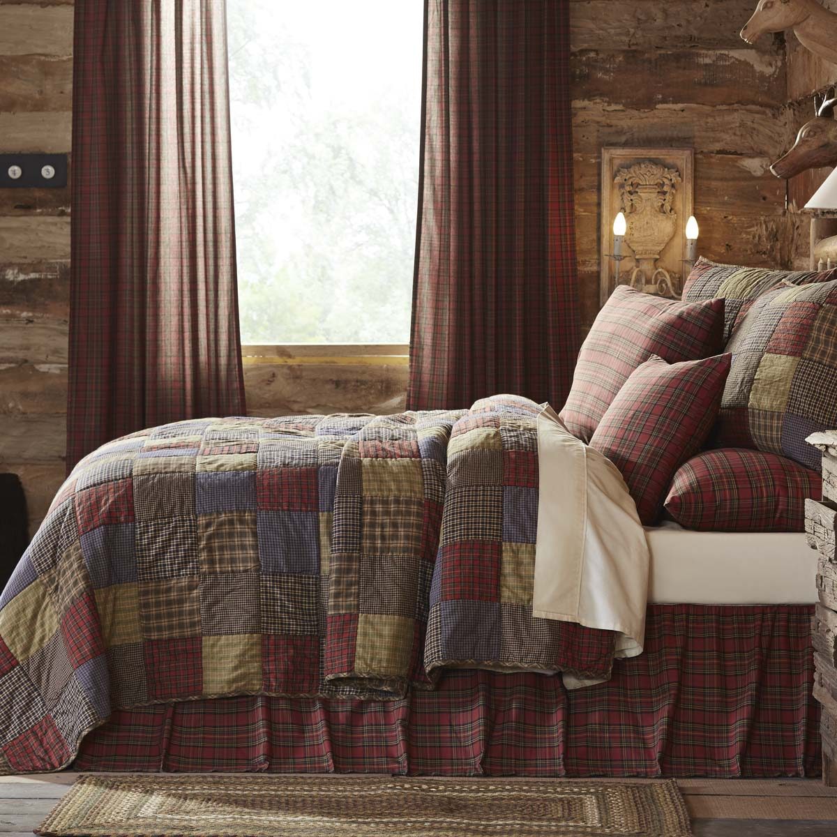 Cedar Ridge Luxury King Set; Quilt 105x120 w/2 Shams 21x37