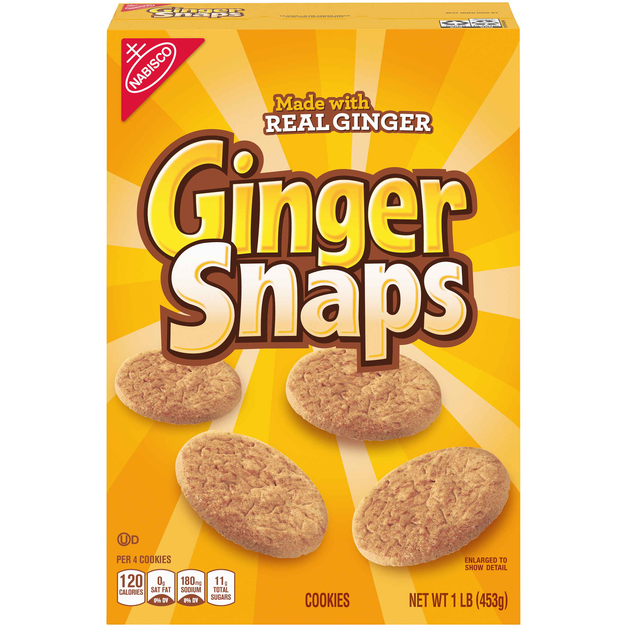 GINGER SNAPS Old Fashioned Ginger Snaps 1 lb