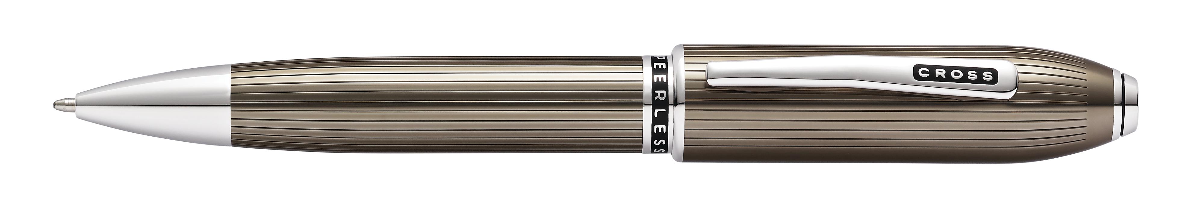 Peerless Translucent Titanium Gray Ballpoint Pen