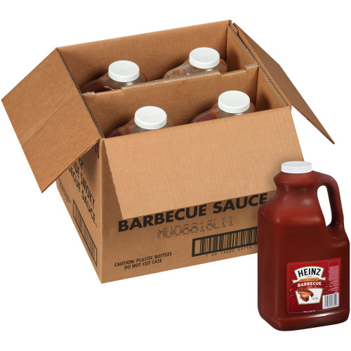 HEINZ Campside BBQ Sauce, 1 gal. Jugs (Pack of 4)